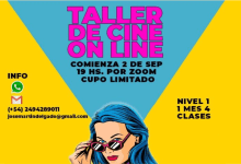 Photo of Taller de Cine  ON LINE