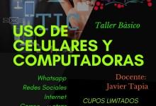 Photo of Taller uso de celular y computadora