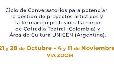 Photo of CICLO DE CONVERSATORIOS: PRODUCCIÓN POÉTICA Y DIÁLOGOS CREATIVOS