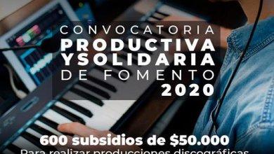 Photo of CONVOCATORIA PRODUCTIVA Y SOLIDARIA DE FOMENTO 2020