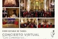 "Photo of El Coro Estable de Tandil presenta el Concierto virtual ""Con Comentarios"""