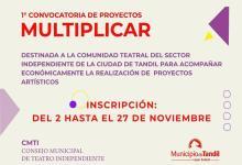 "Photo of Proyectos ""Multiplicar"""