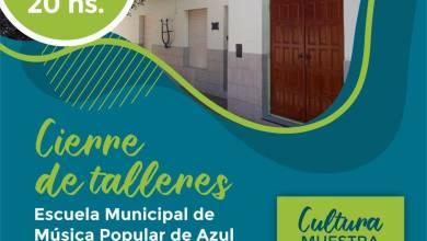 Photo of Cierre de los talleres de la Escuela Municipal de Música Popular