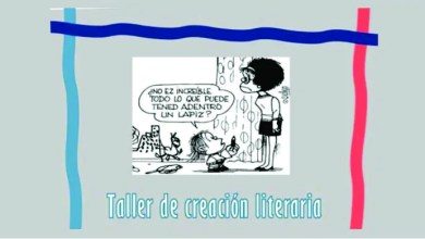 Photo of TALLER DE CREACION LITERARIA