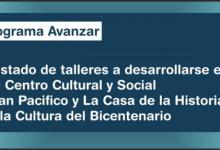 Photo of TALLERES EN EL CENTRO CULTURAL Y SOCIAL SAN PACÍFICO Y LA CASA DEL BICENTENARIO