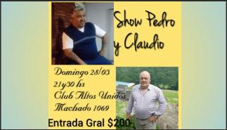 Photo of SHOW PEDRO Y CLAUDIO – MÚSICA EN VIVO