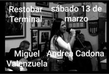 """Photo of MUSICA EN VIVO CON """"MIGUEL VALENZUELA Y ANDREA CADONA"""""""