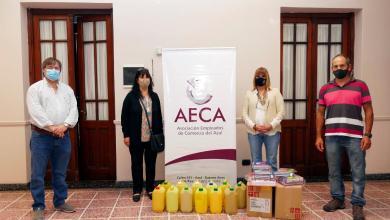 Photo of LA AECA DONÓ ELEMENTOS AL CENTRO CATEQUÍSTICO SANTA TERESITA