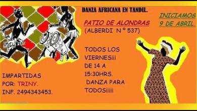 Photo of DANZA AFRICANA EN TANDIL