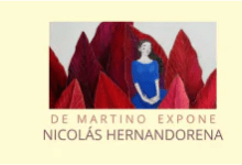 Photo of NICOLÁS HERNANDORENA EXPONE EN DE MARTINO
