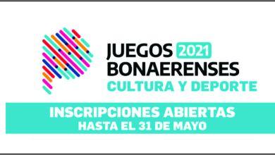 Photo of CULTURA Y DEPORTES – INSCRIPCIÓN JUEGOS BONAERENSES 2021 – AYACUCHO