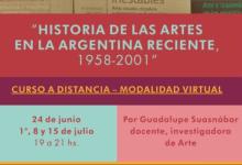 Photo of HISTORIA DE LAS ARTES EN LA  ARGENTINA RECIENTE