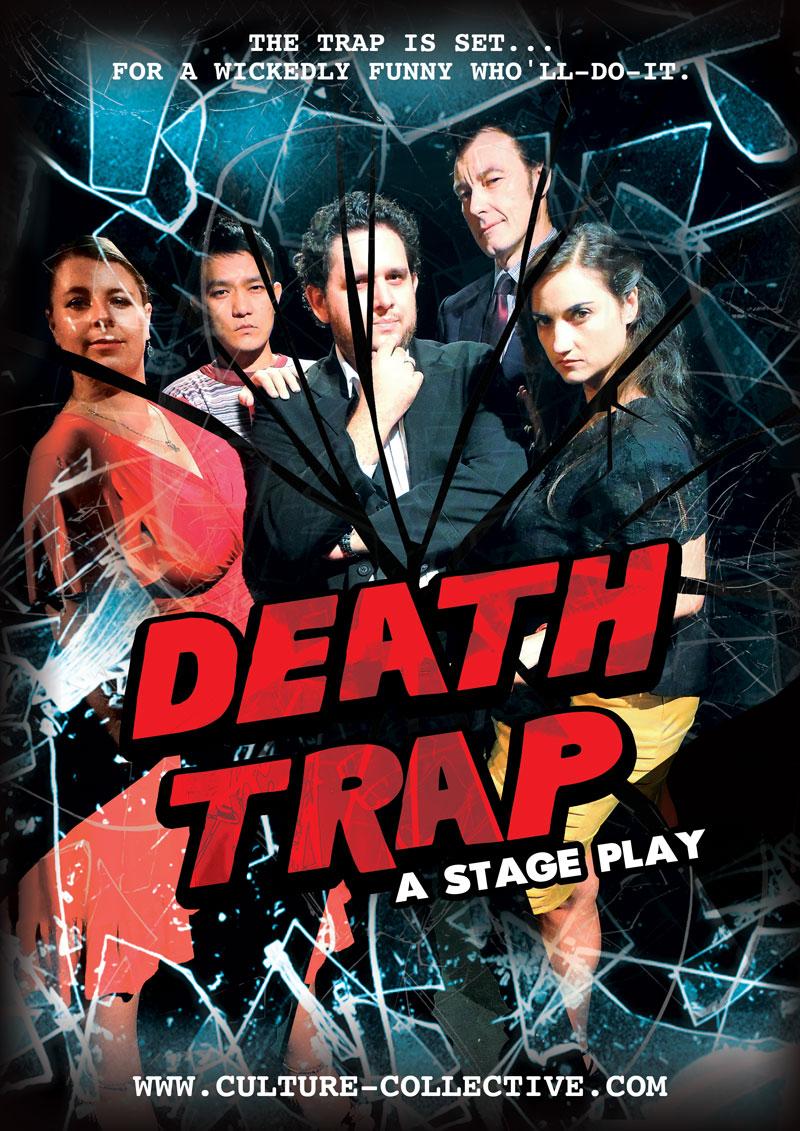 Deathtrap - CULTURE COLLECTIVE STUDIO - A Professional English Language Theatre in Bangkok, Thailand