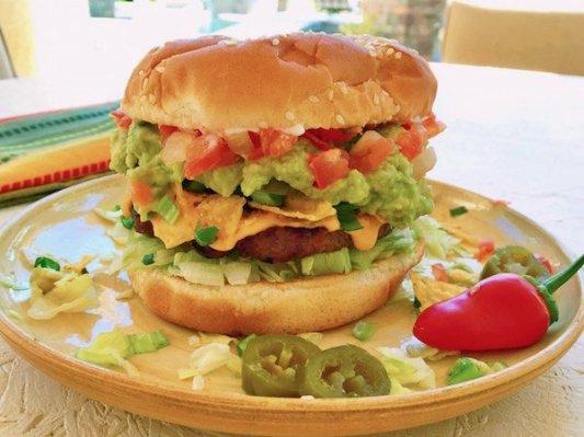 cuisine hybride: Nacho burger