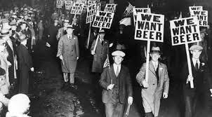 L'âge de la prohibition aux Etats Unis