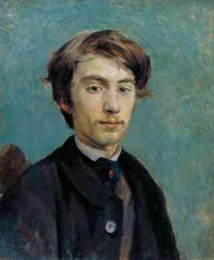 Emile Bernard 1885 Henri de Toulouse-Lautrec 1864-1901 Bequeathed by Arthur Jeffress 1961 http://www.tate.org.uk/art/work/T00465