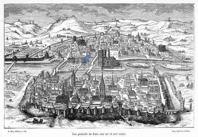 Pars à travers les siècles, d'Henri Gourdon de Genouillac, éd