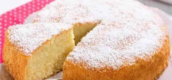 gâteau à la noix de coco 1 minute