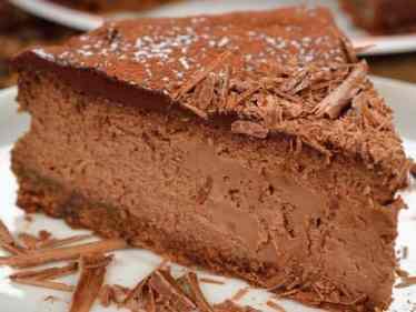 gâteau au café et au chocolat sans cuisson