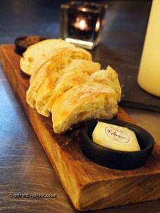 Bread and butter at Malmaison in Aberdeen