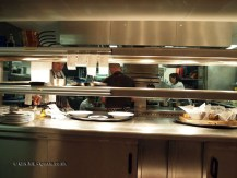 Kitchen at Malmaison in Aberdeen