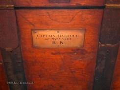 Captain Balfour trunk at Balfour Castle