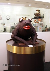 Chocolate frog, Antwerp, Belgium