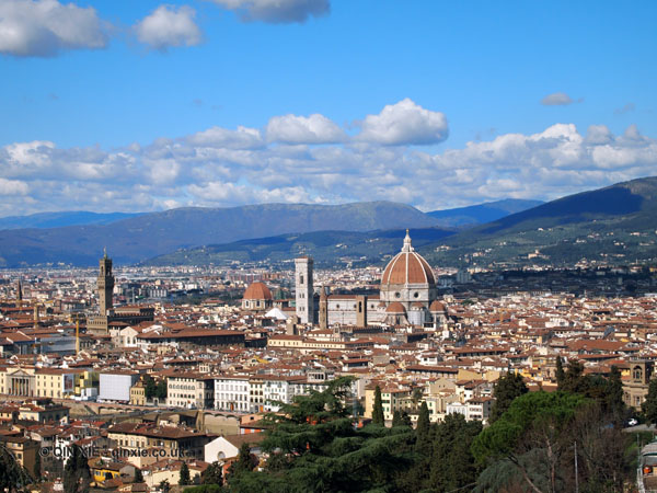 City view, Florence, Italy