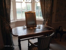 Dressing table at Balfour Castle
