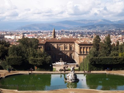 View from Pitti Palace, Florence, Italy