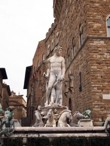 Fountain of Neptune, Florence, Italy