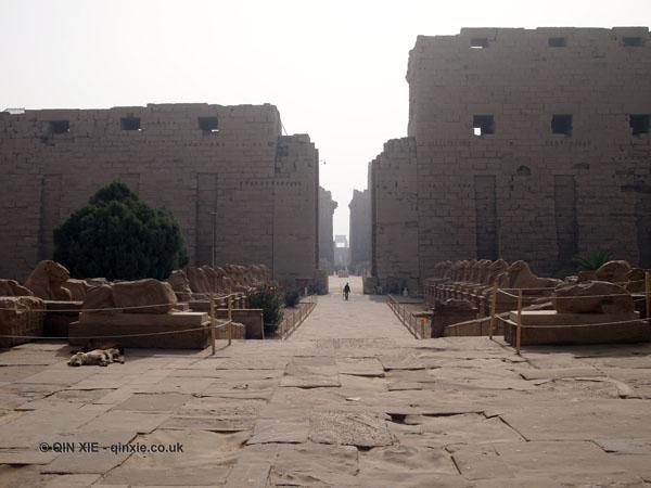 Front gate, Karnak Temple, Luxor