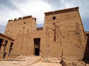 Gate, Philae Temple, Lake Nasser
