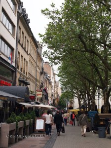High street, Luxembourg