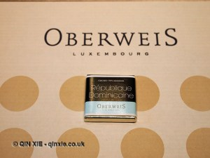 Oberweis Dominican Republic chocolate, Luxembourg