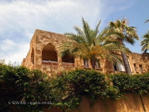 Old residential building, Beirut, Lebanon