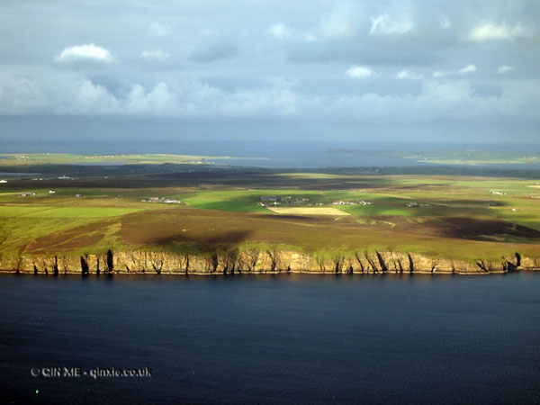 Orkney from the air