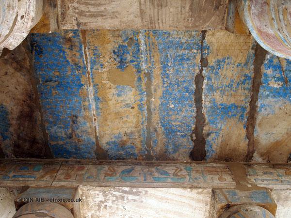 Starry ceiling, Karnak Temple, Luxor