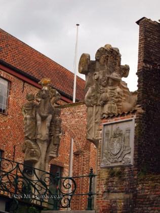 Statues, Ghent, Belgium