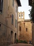 Church bells, San Gimignano, Italy