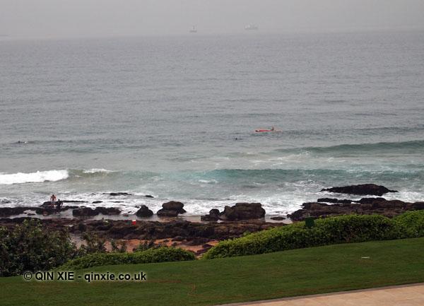Kayaking in Durban, South Africa