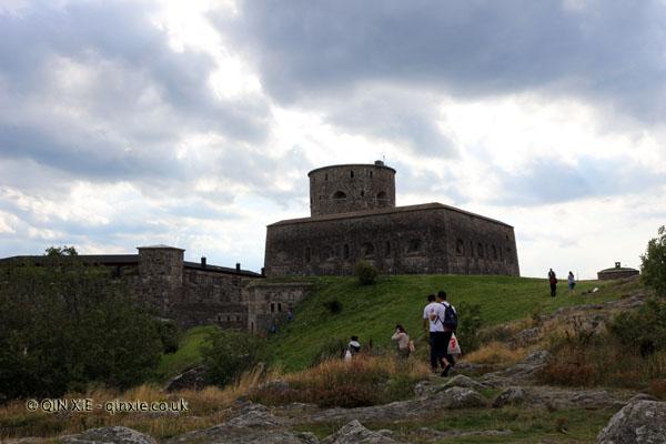 Carlsten Fortress on Marstrand in Bohuslan, West Sweden