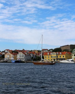 Ship in Marstrand in Bohuslan, West Sweden