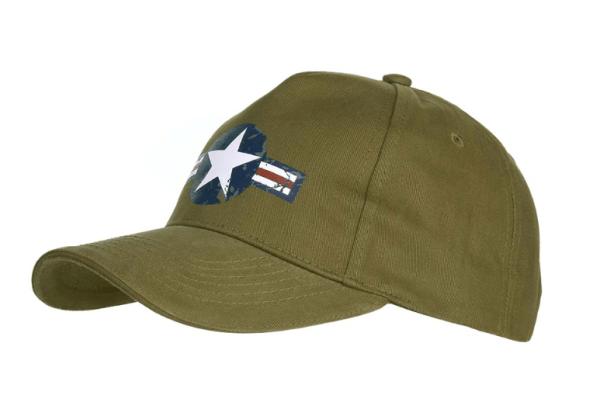casquette US AIR FORCE marquage bleu blanc rouge