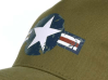 casquette us air force bleu, blanc rouge design