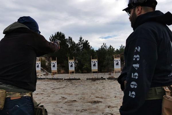 instruction de tir arme a feu debutant bordeaux
