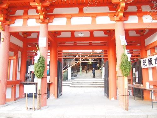 P1071993 2013年初詣は上賀茂神社へ。