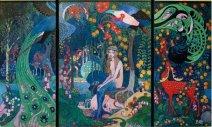 Melusine, Triptychon, um 1910