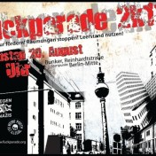 Fuckparade 2011 flyer