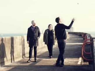 The Twilight Sad press picture bridge